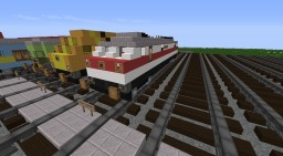 Indian Rail Class WAP-5 locomotive Minecraft Map & Project