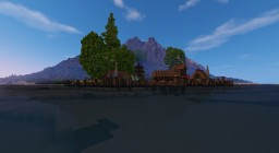 Little medieval Settlement Minecraft Map & Project