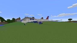787 Dreamliner - Delta Airlines Minecraft