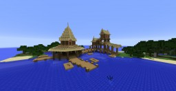 Exotic fishery island Minecraft Map & Project