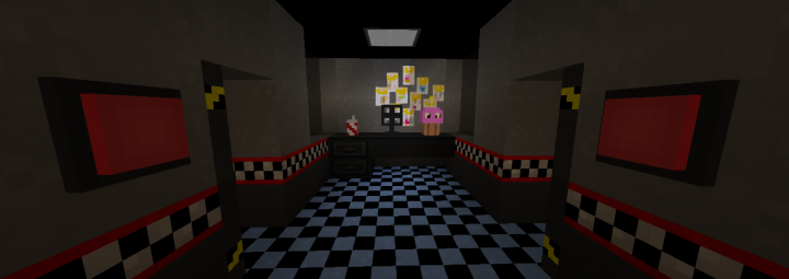 Five Nights at Freddy's Maps [FNaF 1] Minecraft Project