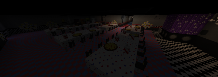 Dining Area and Game Zone AKA Arcade machines in the back