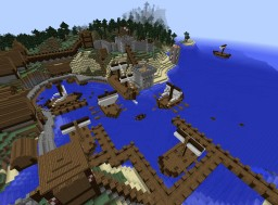 Fishing port Minecraft Project