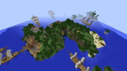 Blue Cave Island Minecraft Map & Project