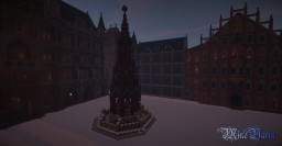 Christkindlesmarkt - Nuremberg Christmas Market Minecraft Map & Project