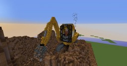 Giant Excavator / Digger Minecraft Map & Project