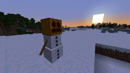 The Tale of a Snow Golem Minecraft Blog Post