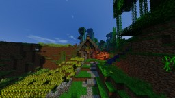 Corn village Minecraft Map & Project