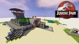 Jurassic Park Velociraptor Paddock Minecraft Map & Project