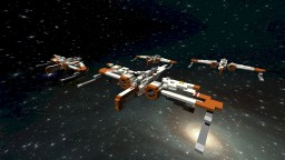 ARC-170 Starfighter STAR WARS Minecraft Project