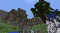 Medieval mansion/castle on Lothiredon server by SMeijers Minecraft Project