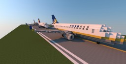 [2:1] Embraer Emb-170/175 Minecraft Map & Project