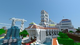 Quarzville - > Battle Arena + maze+ parkour map - All in one Minecraft