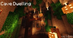 Cave Dwelling Minecraft Map & Project