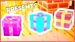 Minecraft - 3 Present Designs Minecraft Map & Project