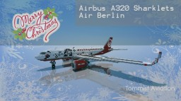 *HAPPY HOLIDAYS* Airbus A320 Sharklets -  Air Berlin [+ Download] Minecraft Project