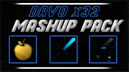 MINECRAFT PVP TEXTURE PACK - DAVO X32 MASHUP PACK V2 - UHC/KOHI Minecraft Texture Pack