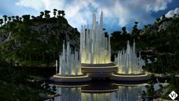 [VI] Atlantis - Futuristic City - Custom Terrain (Jungle, Mountains, Islands)