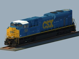 CSX SD70ACe [High Detail] Minecraft Project