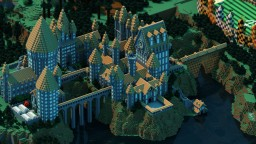 Hogwarts map Minecraft Map & Project