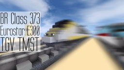 Eurostar Class 373, TGV | High Speed Channel Tunnel Train Minecraft