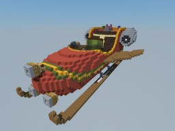Christmas sleigh Minecraft Map & Project