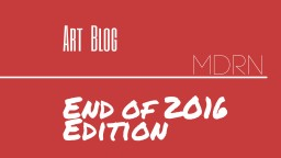 Art Blog (End of 2016 Edition) Minecraft