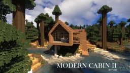Modern Cabin 2 Minecraft Project