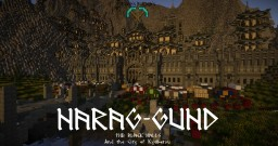 Narag-Gund, Stronghold of the Stonefoot Clan on the Mountains of the Wind Minecraft