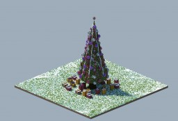 Christmas tree - Merry Christmas Minecraft Project