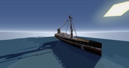 "SS Georgi Benkovski - / Презокеански Параход ""Георги Бенковски"" Minecraft Map & Project"