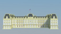 Palais du Louvre Minecraft Project