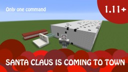 Santa Claus is coming to town Minecraft Map & Project