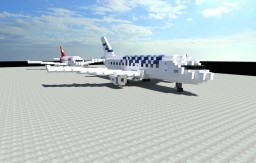 Airbus A319-100 Pack + WORKING LIGHTS! Minecraft Map & Project