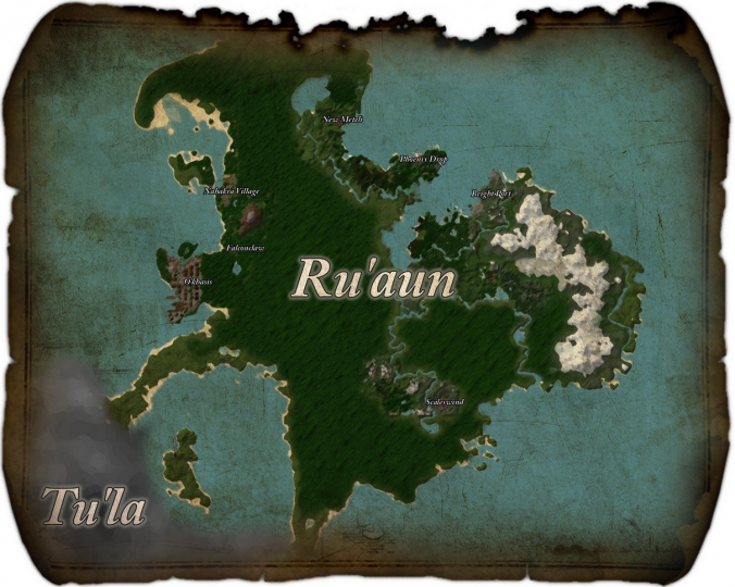 Aphmaus OG Map of Ruaun