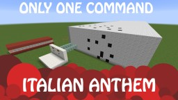 Italian anthem - Only one command! Minecraft Map & Project