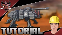 Star Wars All Terrain Tactical Enforcer (AT-TE) Combat Walker (Tutorial + Download) Minecraft Map & Project