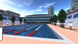 Symount City: Public swimming pool Minecraft Map & Project