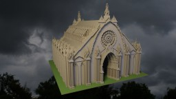 Gothic Chapel Minecraft Map & Project