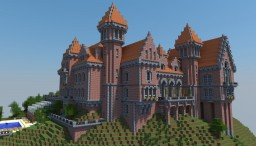 The Red Castle | Le Château Rouge Minecraft Project