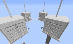 Quadruple X-Box Farm Minecraft Map & Project