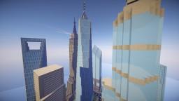 Skyscraper City Minecraft Map & Project