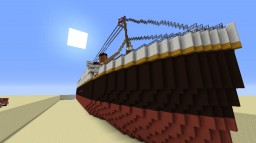 Titanic (with interior) Minecraft Map & Project