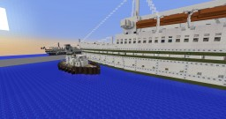 1940s tug boat Minecraft Map & Project