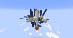 Mir Space Station   1:1 Scale Minecraft