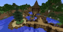 Circular Water House | Survival-Friendly Minecraft Map & Project