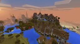 Les plaines d'Aldarose--- The plains of Aldarose Minecraft Map & Project
