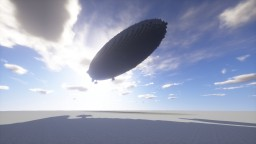 """LZ-02 """"Nordica"""" Polar Research Airship Minecraft Map & Project"""