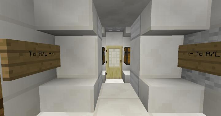 Interior of the Quest Airlock