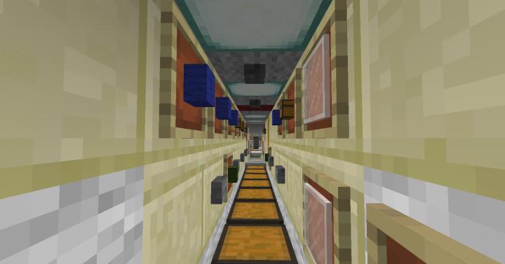 Interior of the Zarya Module